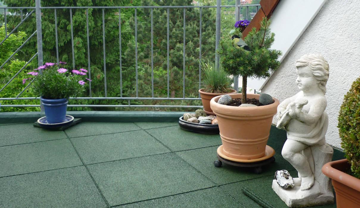 Moderne Terrassenplatten Balkon Veranda Terrasse Von