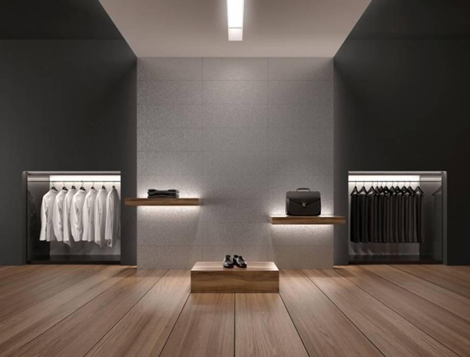 Experience Collection Oficinas y tiendas de estilo moderno de ALEA Moderno