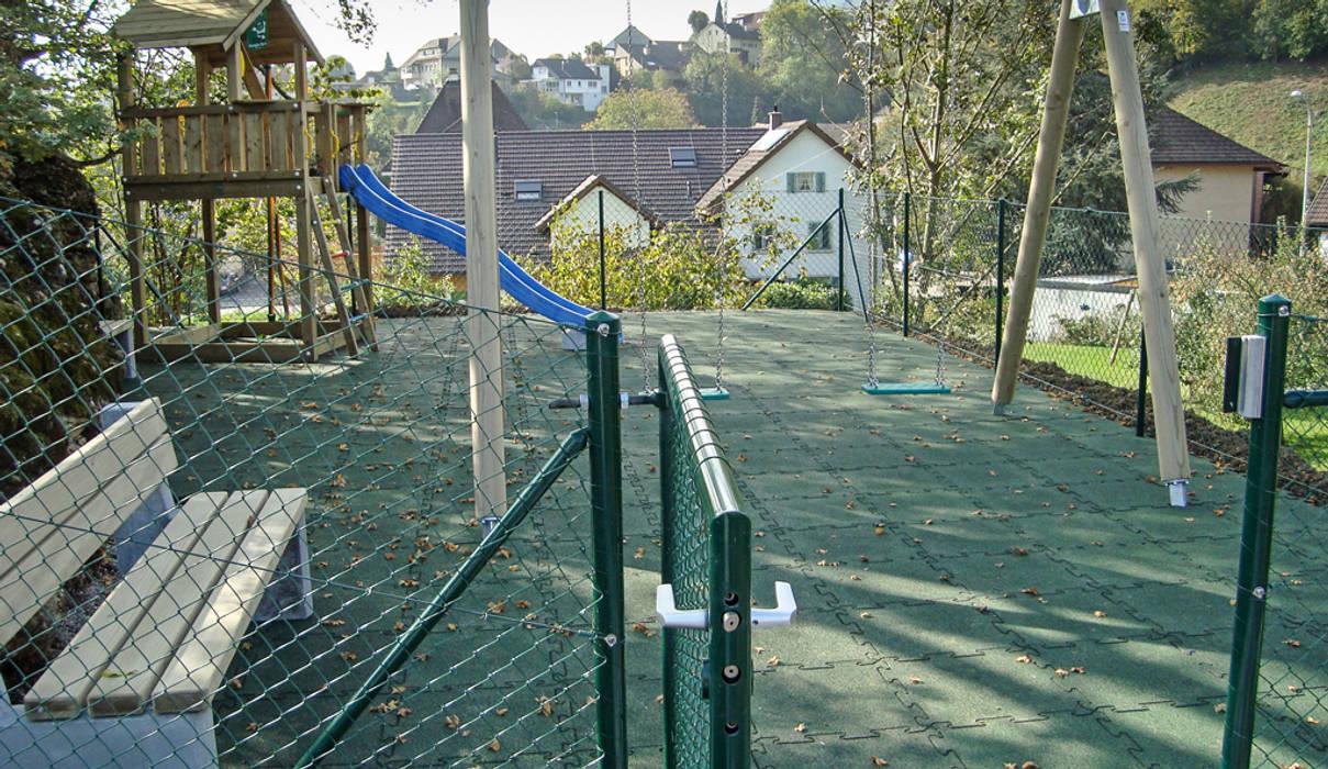 Günstiger Spielplatz Bodenbelag Garten Von Warco Bodenbeläge Homify