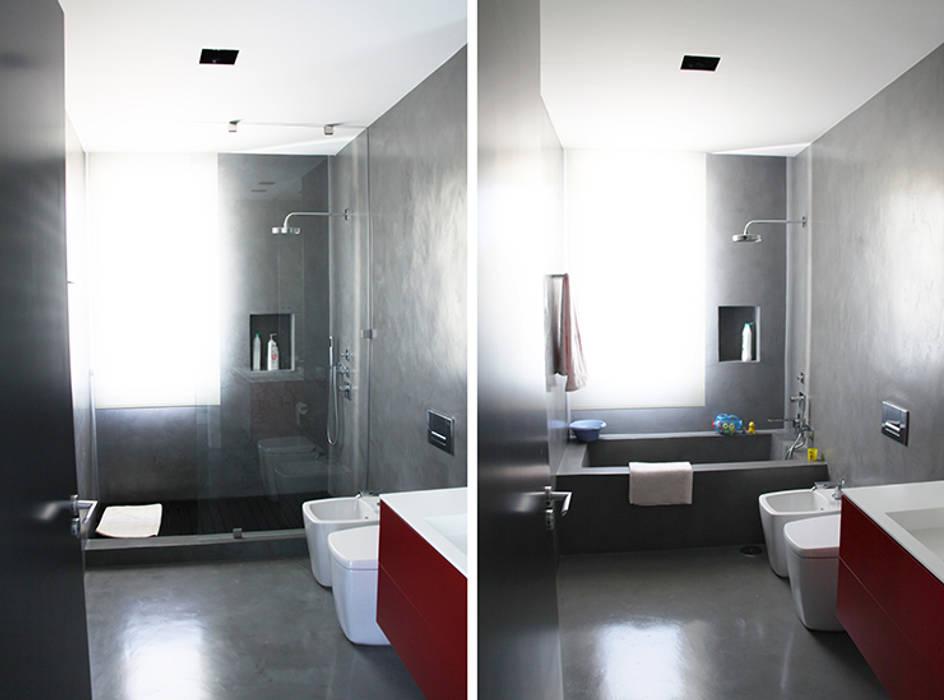 Baños con microcemento Arquitectos Madrid 2.0 Baños de estilo moderno