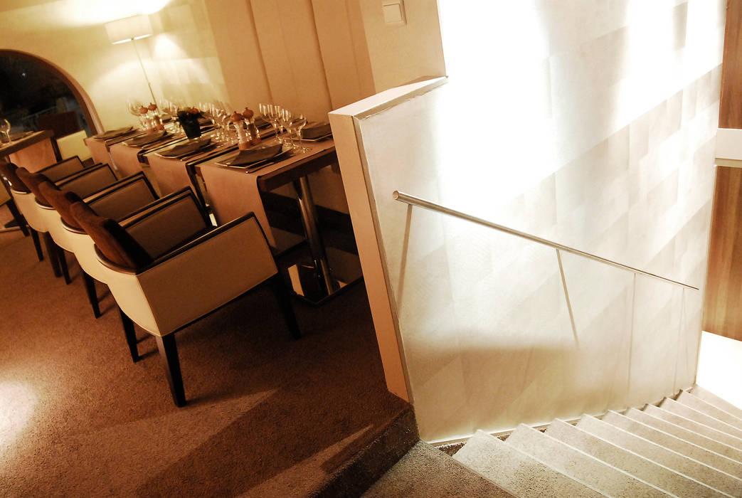 Restaurant La Tassée:  de style  par Agence Philippe BATIFOULIER Design
