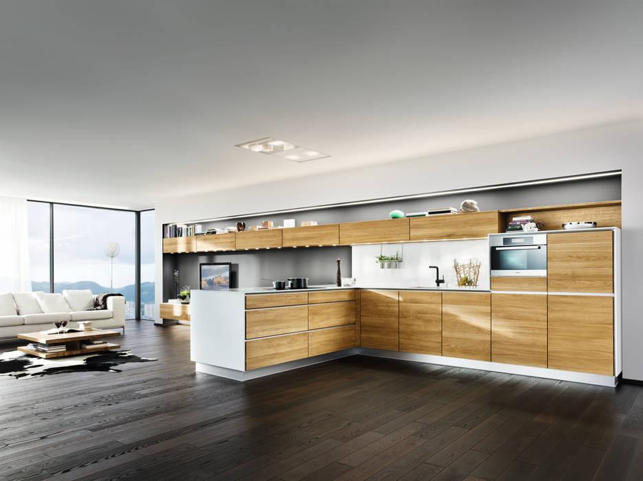 """Küche """"L1"""":  Küche von Eckhart Bald Naturmöbel,Modern"""
