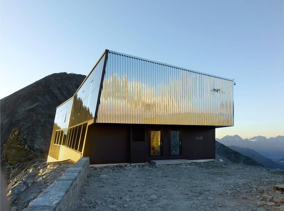 Nouvelle cabane de Tracuit par savioz fabrizzi architectes