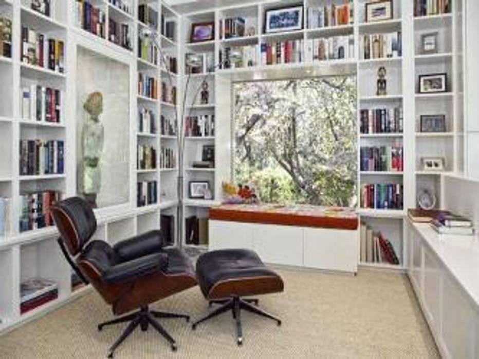 Salón de lectores Ruben Salones de estilo moderno