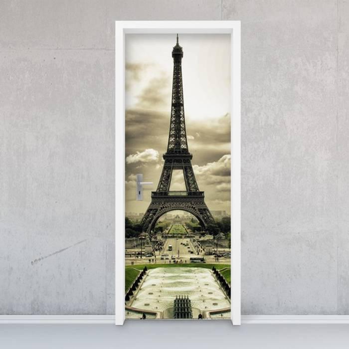 Türfolie - Eiffel Tower: modern  von creatisto GmbH,Modern