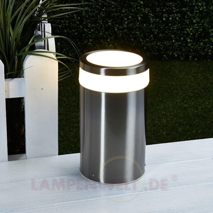 Moderne LED-Sockelleuchte Timeo: modern  von Lampenwelt.de,Modern