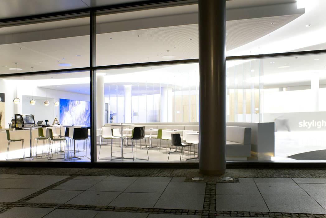 Projekty,  Biurowce zaprojektowane przez MAASS-Licht Lichtplanung