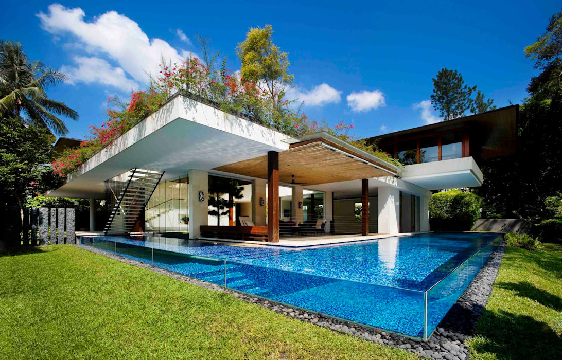 Maryland Drive :  Pool by Guz Architects,
