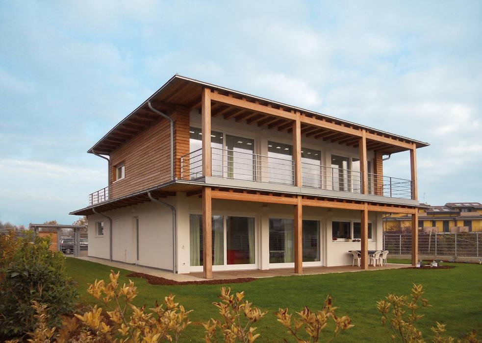 Casa in legno di Marlegno Classico Legno Effetto legno