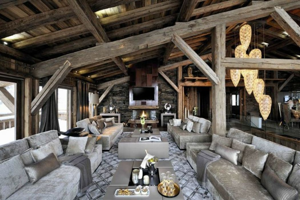 LUXURY CHALET BRICKELL - FRANCE: Case in stile in stile Classico di VGnewtrend