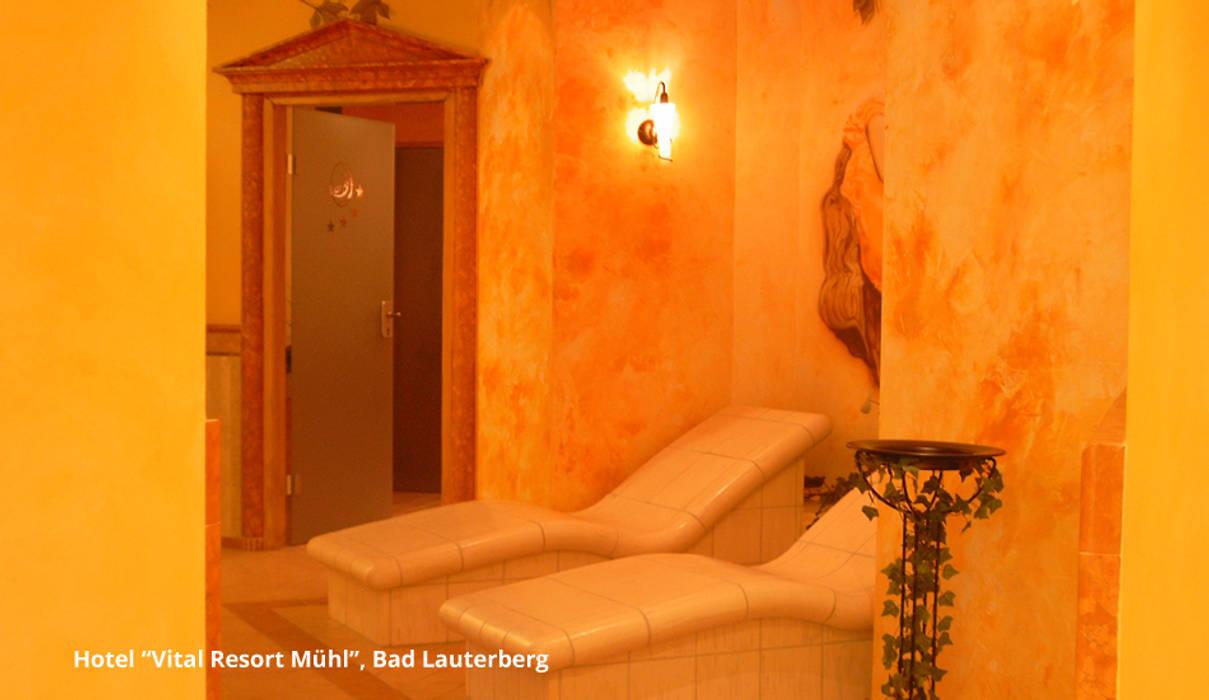"""Innenarchitektur Hotel """"Vital Resort Mühl"""" - Bad Lauterberg:  Hotels von GID│GOLDMANN-INTERIOR-DESIGN - Innenarchitekt in Sehnde,Klassisch"""