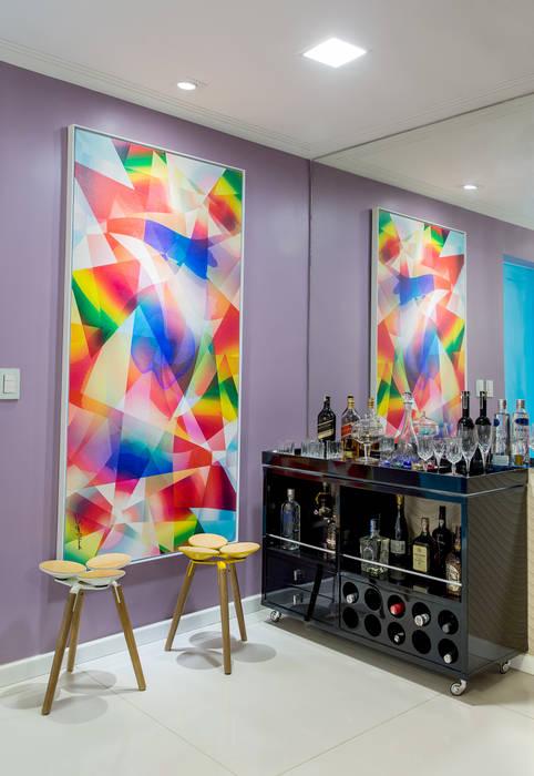 Milla Holtz & Bruno Sgrillo Arquitetura Wine cellar