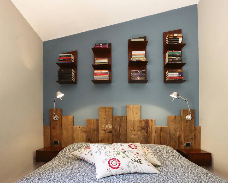 Phòng khách phong cách mộc mạc bởi Rachele Biancalani Studio Mộc mạc