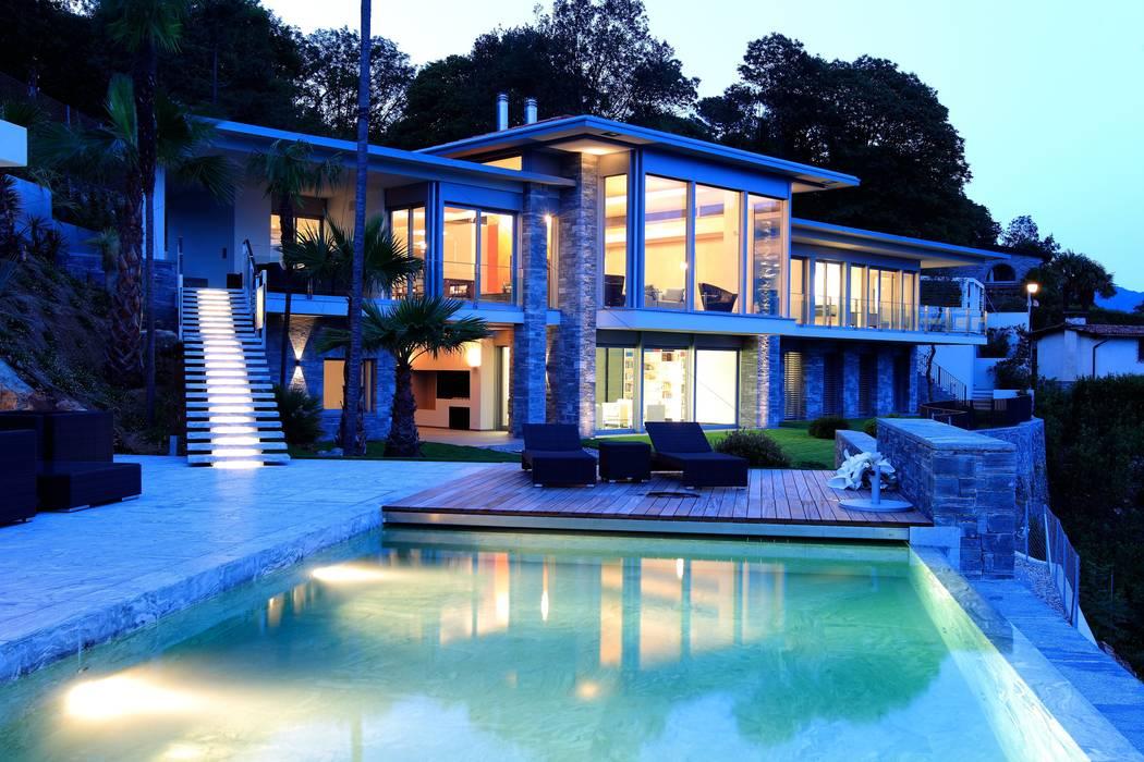 Aldo Rampazzi Studio di Architettura Modern Terrace
