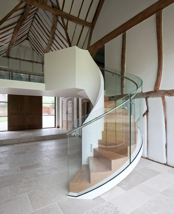 TransParancy by EeStairs® - Glass balustrades EeStairs   Stairs and balustrades Corridor, hallway & stairsStairs
