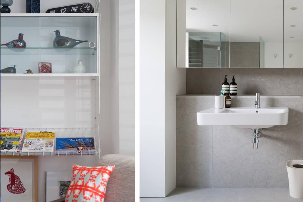 Interior Banheiros modernos por Architecture for London Moderno