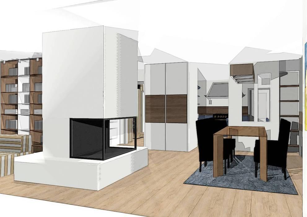 réagencer séjour Salon par agence concept decoration