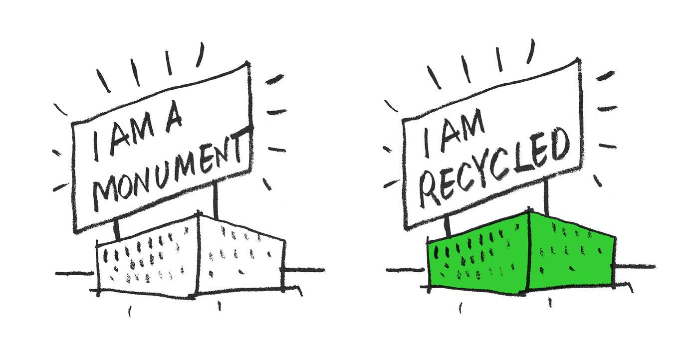 I am recycled Oficinas y tiendas de PKMN architectures