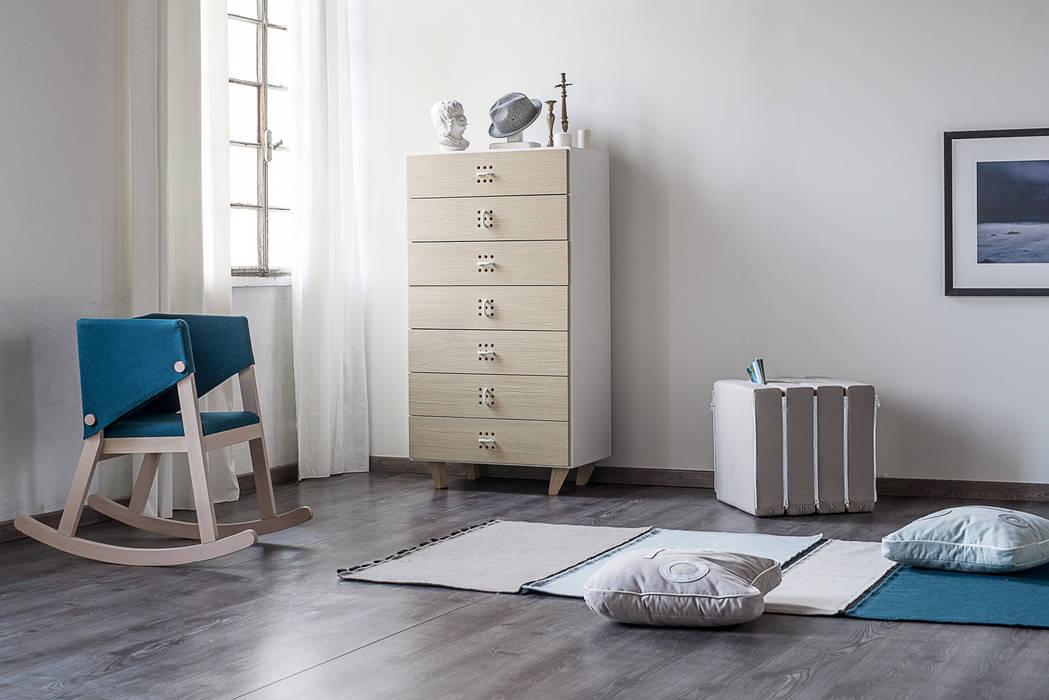 Nodo settimanale: camera da letto in stile di andrea brugnera design ...