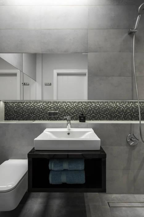 nowoczesne mieszkanie w Warszawie Nowoczesna łazienka od Art of home Nowoczesny
