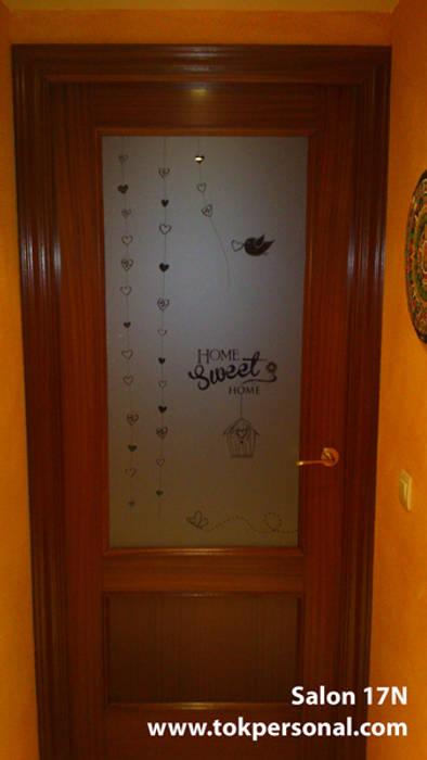 Vinilos decorativos para cristales salón 17n: de estilo ...