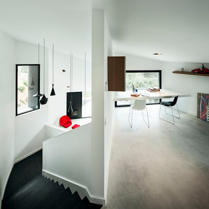 House in L'Ametlla del Vallès Casas de estilo mediterráneo de MIRAG Arquitectura i Gestió Mediterráneo