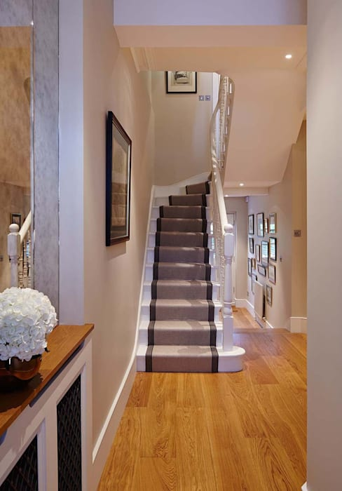 Townhouse Interior Design, Putney Bridge, London Moderne Häuser von Residence Interior Design Ltd Modern