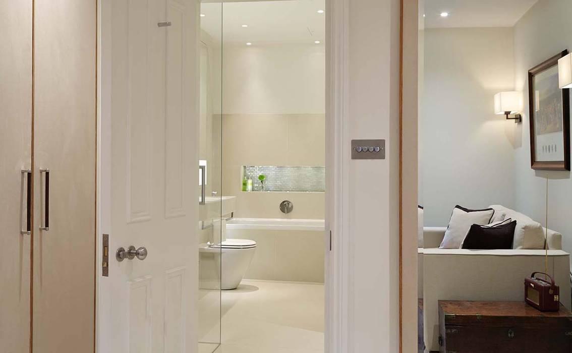 Master Suite Design, Parson's Green, London Modern houses by Residence Interior Design Ltd Modern