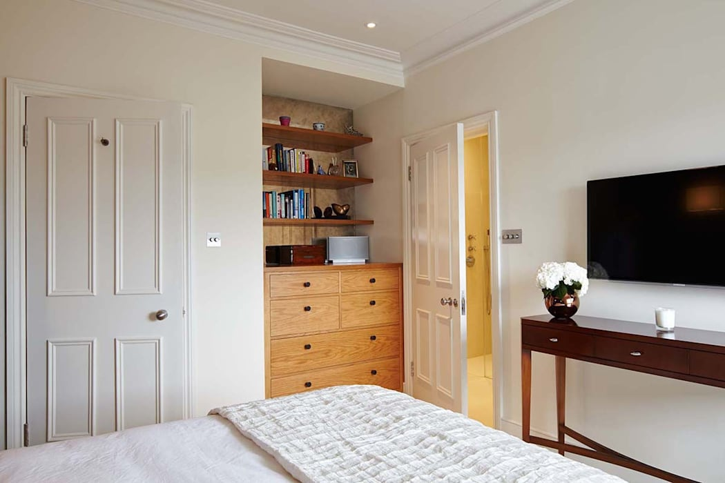 Master Suite Design, Parson's Green, London Casas modernas de Residence Interior Design Ltd Moderno