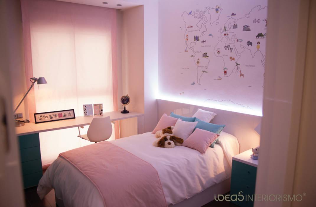 Habitación infantil de Araceli: Dormitorios infantiles de estilo moderno de Ideas Interiorismo Exclusivo, SLU