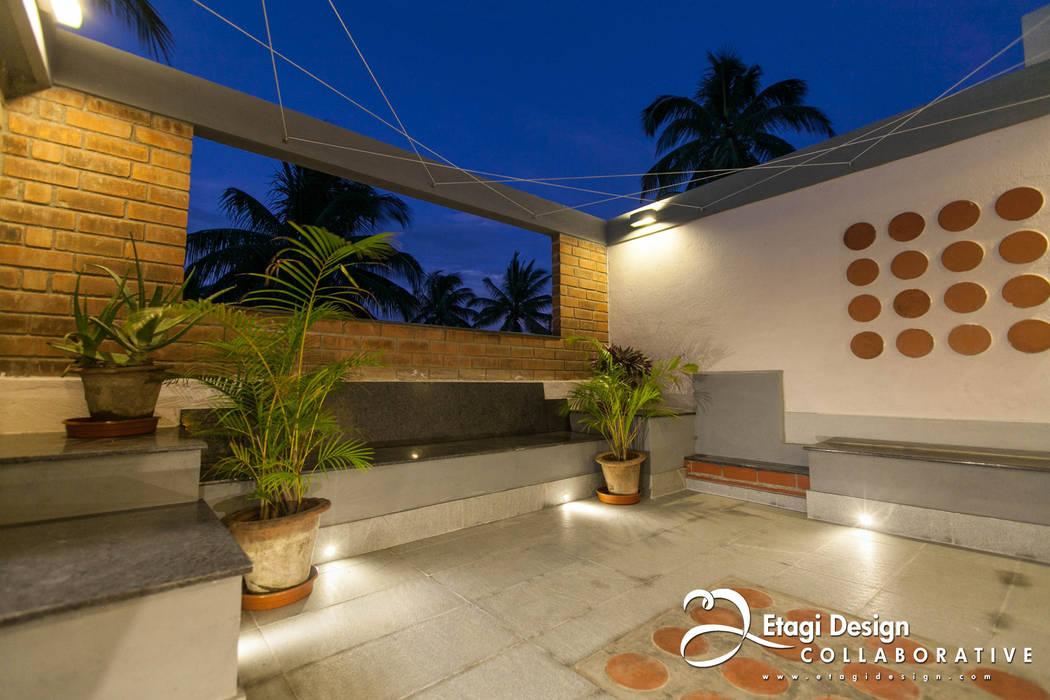 Before & After_Terrace Garden & Family Room for Kubsad Family at Bangalore, India. โดย Etagi Design Collaborative เอเชียน