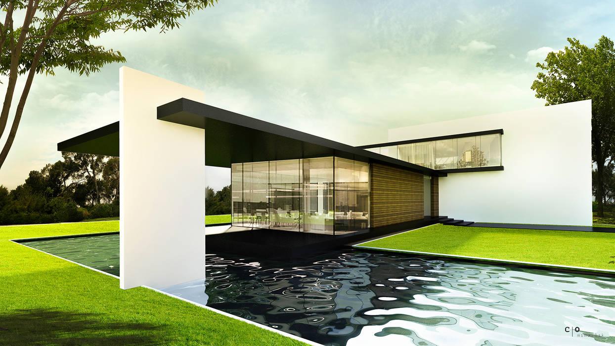 CO Mimarlık Dekorasyon İnşaat ve Dış Tic. Ltd. Şti. – C.S. EVİ:  tarz Evler, Modern
