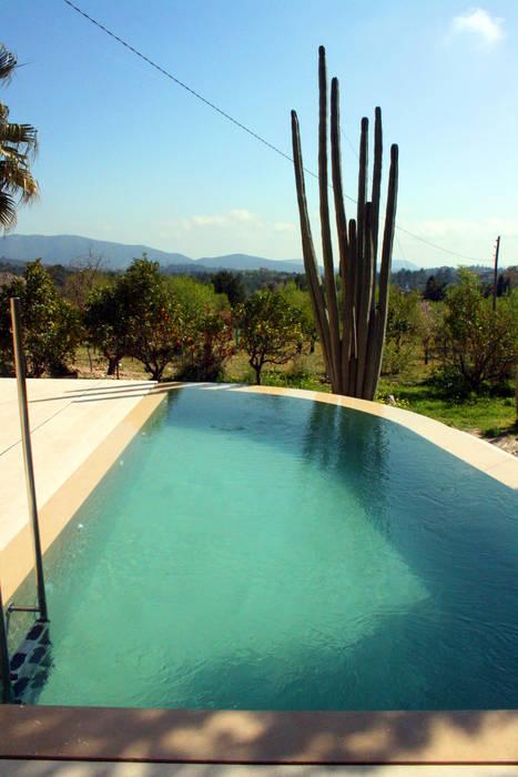 Piscina en capdella mallorca piscinas de estilo de joan - Piscinas en mallorca ...