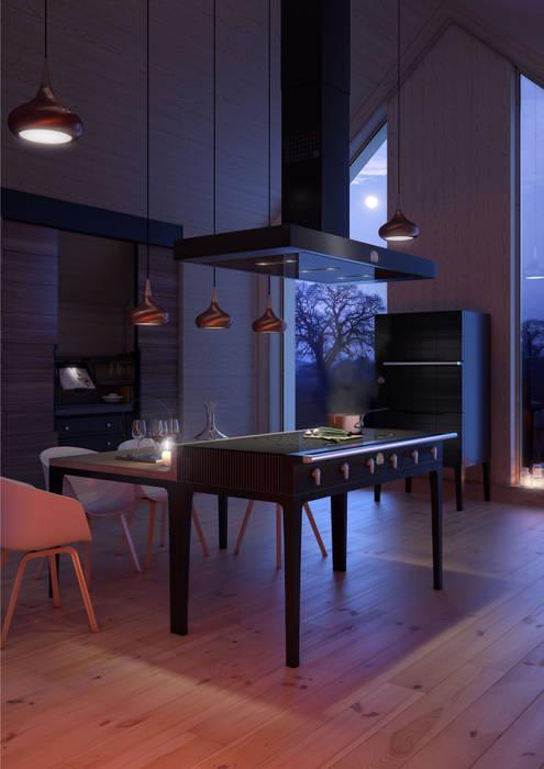 Ilot La Cornue W.: Cuisine de style de style Moderne par La Cornue