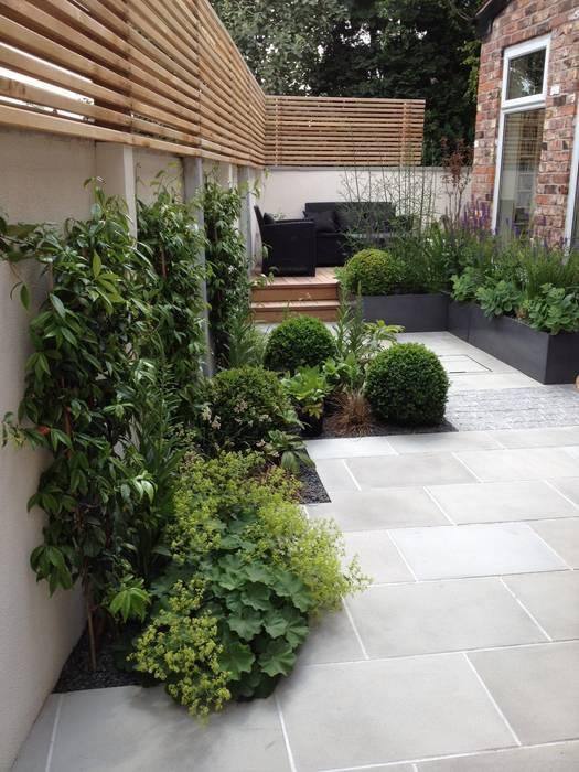 Bowden House Modern garden by Aralia Modern Stone
