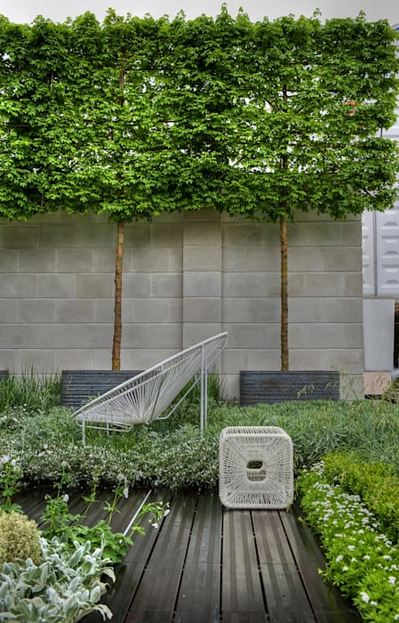 Chelsea Flower Show 2012 : The Rootop Workplace of Tomorrow Modern commercial spaces by Aralia Modern Bricks