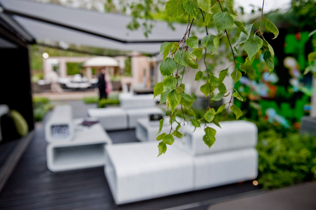 Chelsea Flower Show 2012 : The Rootop Workplace of Tomorrow Modern office buildings by Aralia Modern Wood Wood effect