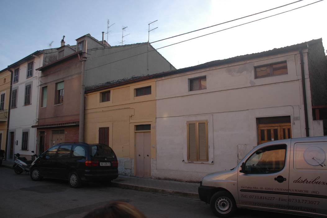 PRIMA DEI LAVORI Andrea Stortoni Architetto Case moderne