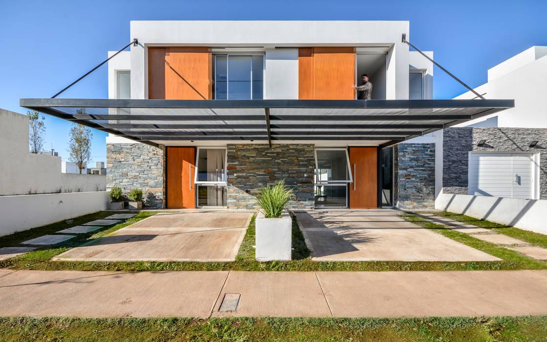 Häuser von Estudio A+3,