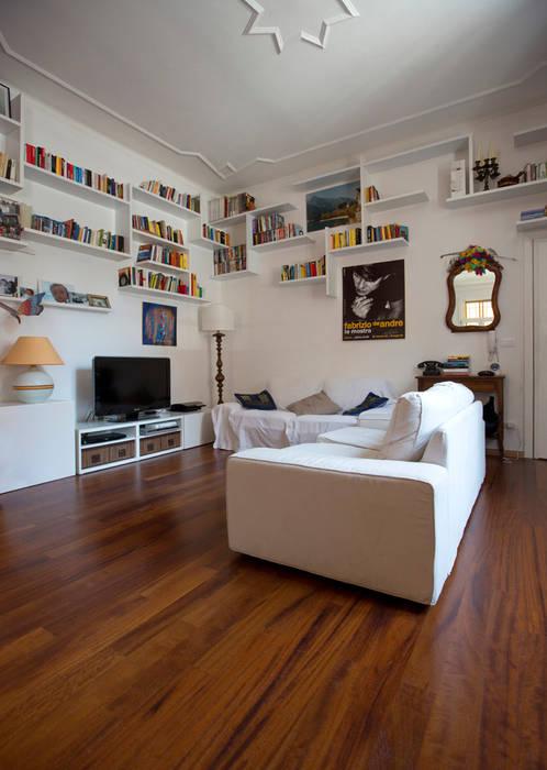 Living room Гостиная в стиле модерн от BRENSO Architecture & Design Модерн