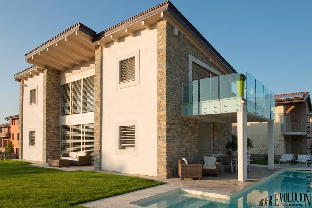 บ้านและที่อยู่อาศัย โดย studio aica progetti, โมเดิร์น