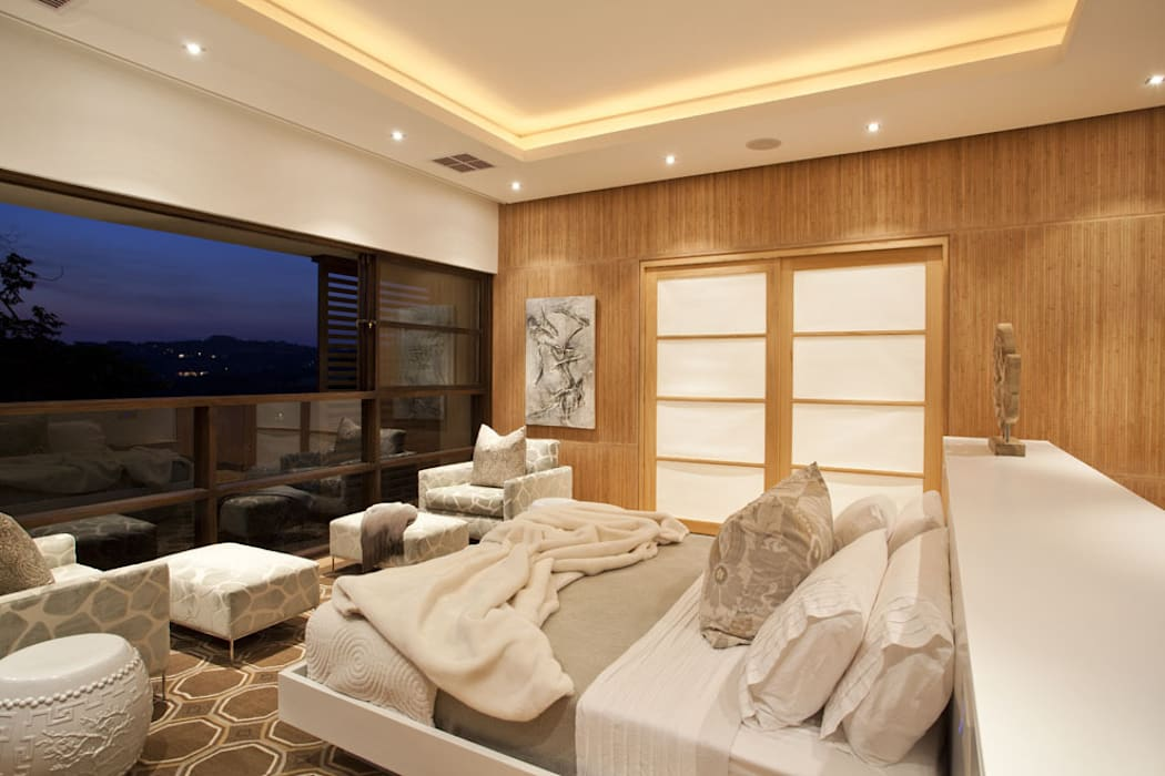 SGNW House Modern style bedroom by Metropole Architects - South Africa Modern