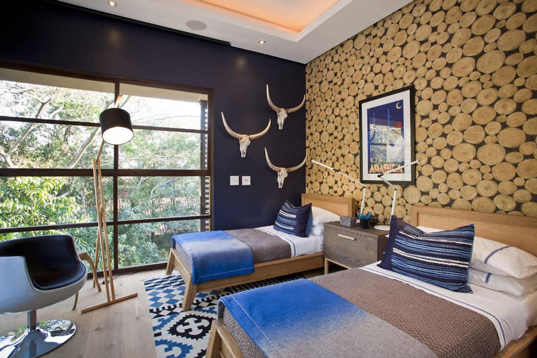 Chambre de style  par Metropole Architects - South Africa,