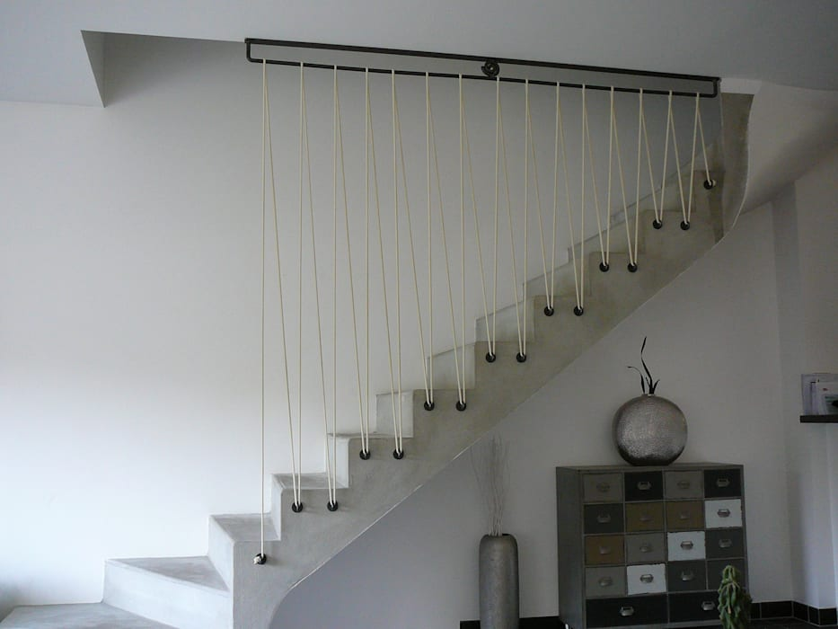 Stairs by ATELIER MACHLINE, Eclectic