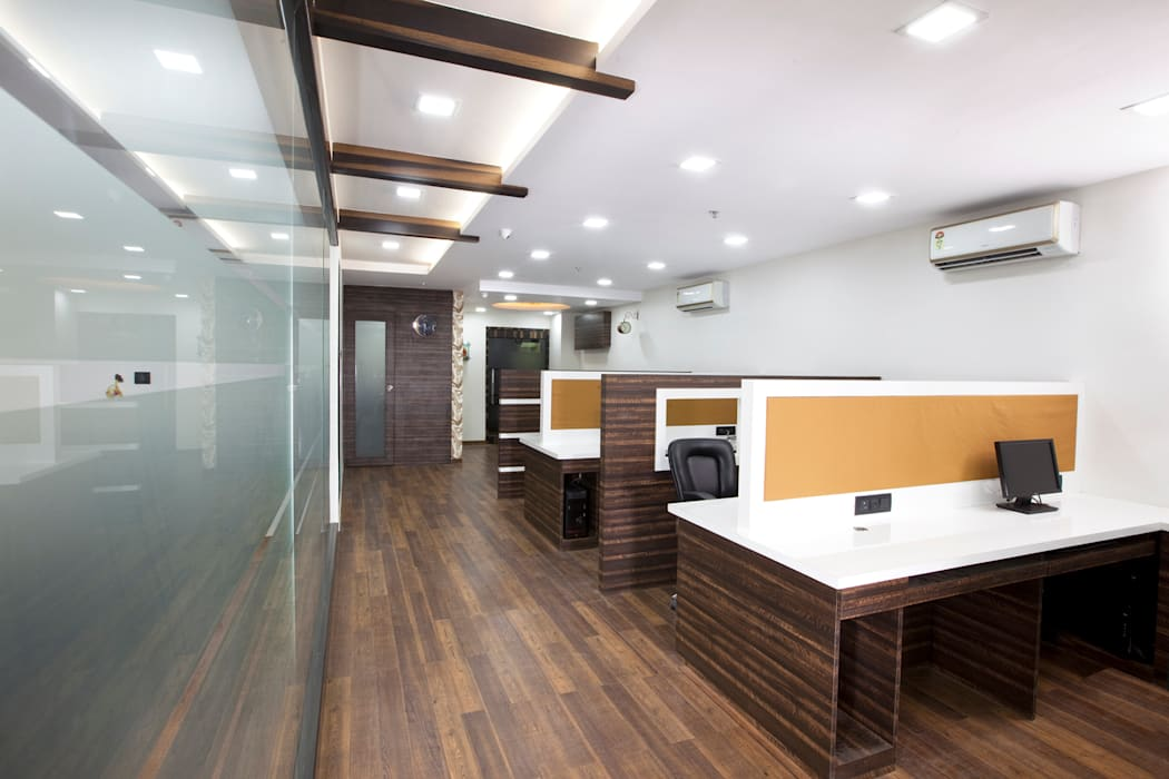 Commercial Spaces by Squaare Interior