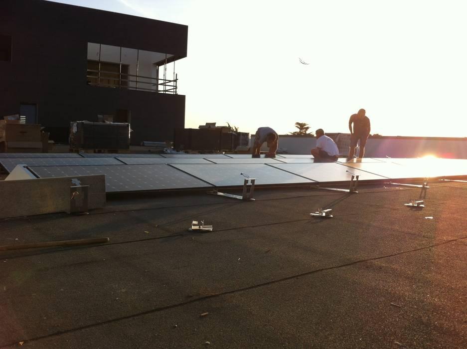 Fotovoltaico Industriale 72KW - SUNPOWER SMA Veneta Impianti S.r.l. Complesso d'uffici in stile industrial