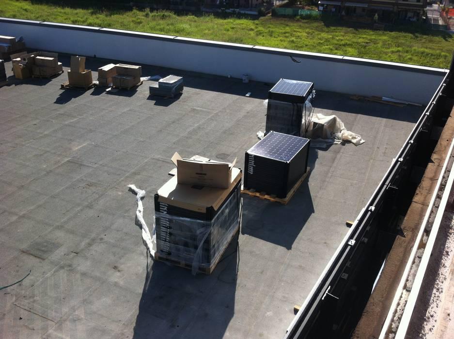 Fotovoltaico Industriale 72KW - SUNPOWER SMA Complesso d'uffici in stile industrial di Veneta Impianti S.r.l. Industrial