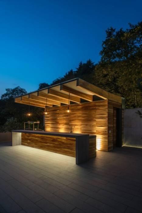 de estilo  por Rhyzoma - Arquitectura y Diseño