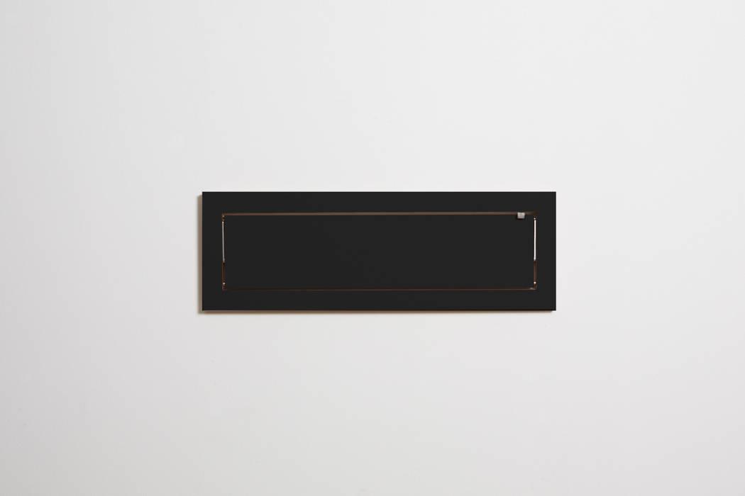 Fläpps Shelf 80x27x1 – Black AMBIVALENZ HouseholdStorage Plywood Black