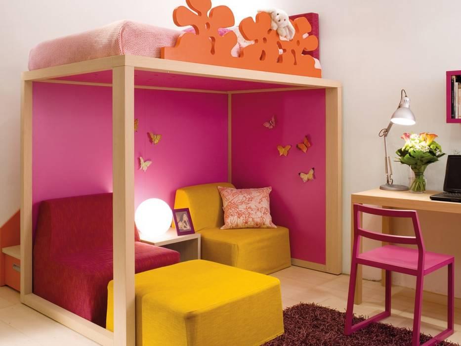 Design Hochbett Fur Madchen Kinderzimmer Von Mobimio